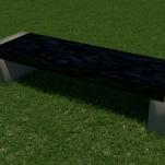 Block Bench (granite top)