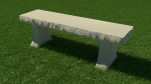 Bull nose Hour glass Bench