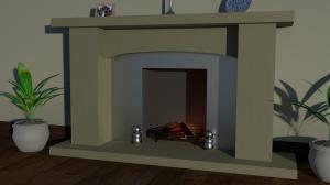 Merrin fire surround